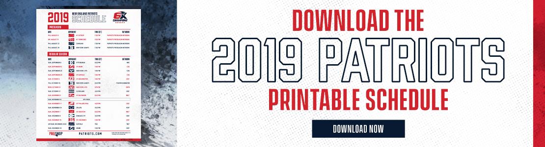 0a79e567024a3 2019 Printable Schedule